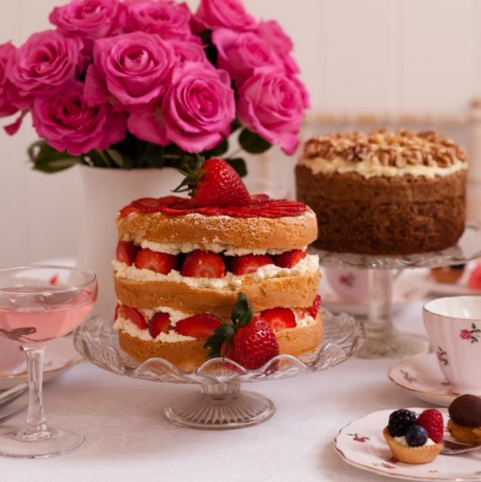 Delicious Afternoon Tea Cakes