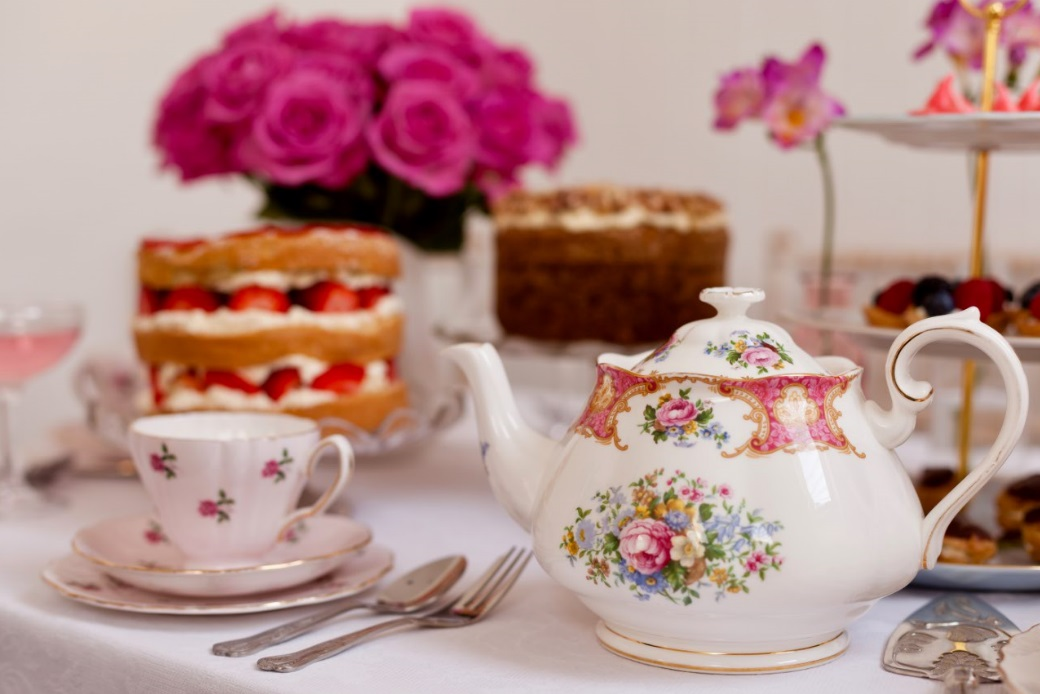 Catering and Styling for Tea Parties
