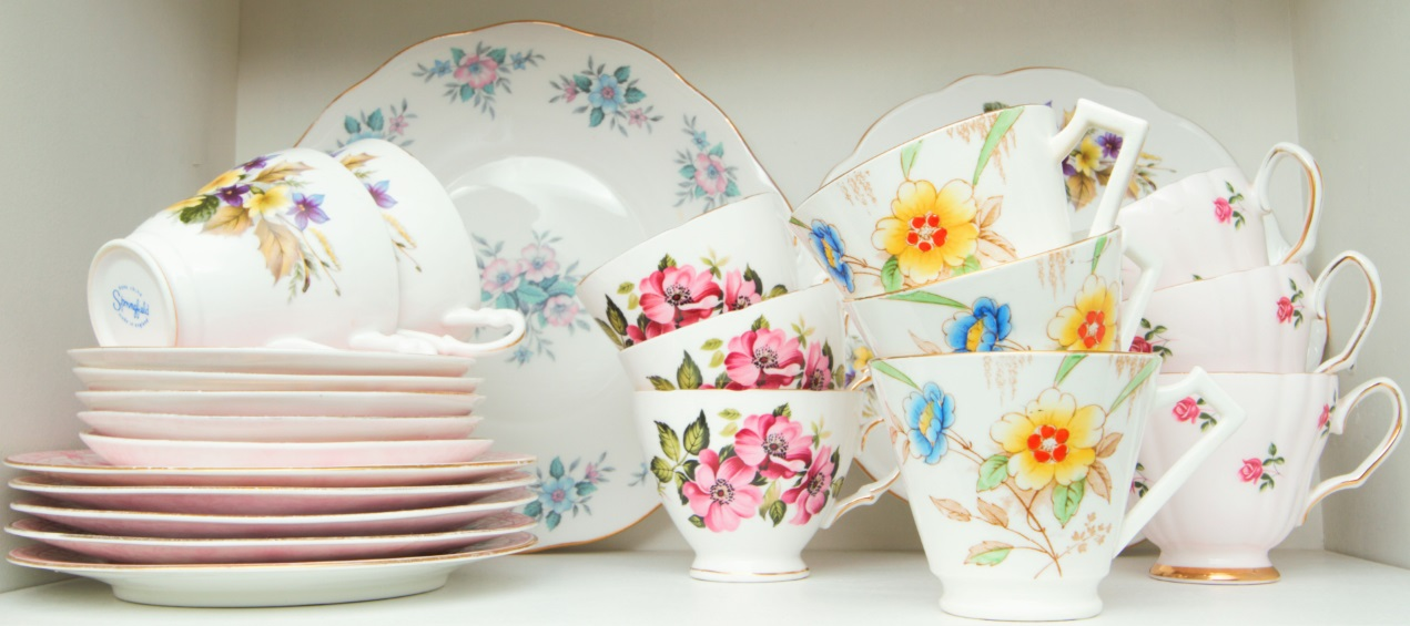Pretty Vintage China for Hire