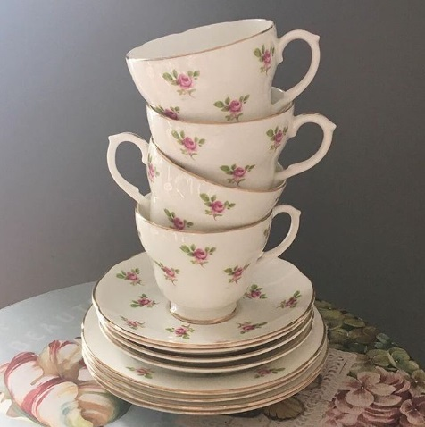 China Teacups for Hire