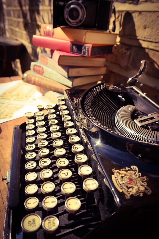 Vintage Typewriter for Hire