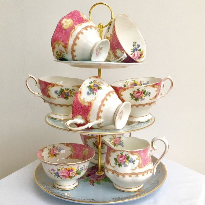 Beautiful Vintage Tea Sets for Hire